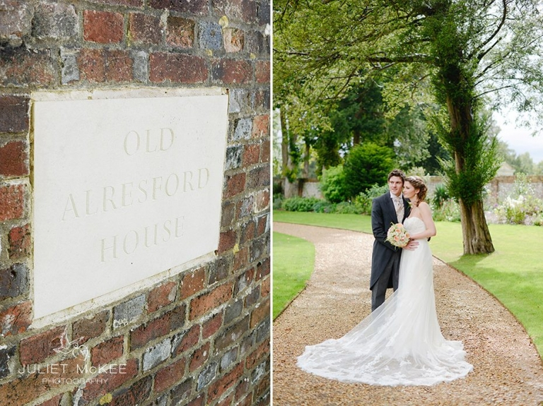 Hannah & Jon {Old Alresford House Wedding Preview} 5