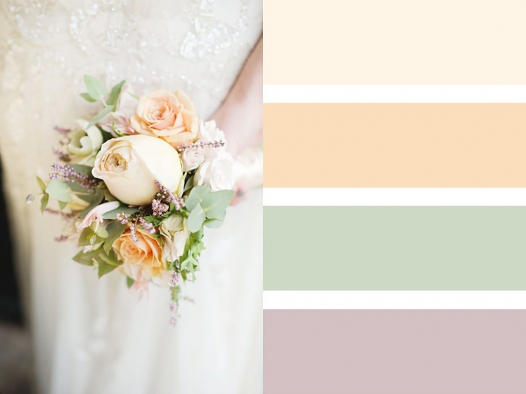 Bouquet Colour Palettes ~ Choosing A Colour Scheme 4