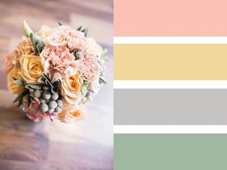 Bouquet Colour Palettes ~ Choosing A Colour Scheme 3