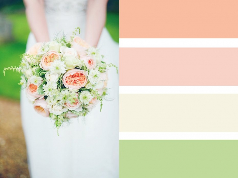 Bouquet Colour Palettes ~ Choosing A Colour Scheme 1