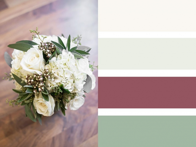 Bouquet Colour Palettes ~ Choosing A Colour Scheme 5