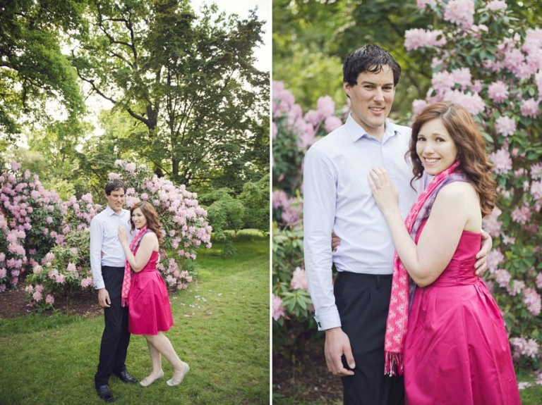 Julianne And David ~ Kew Gardens Engagement Photography 5