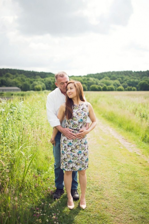 Will & Sarah ~ Waverley Abbey Engagement Photography 3
