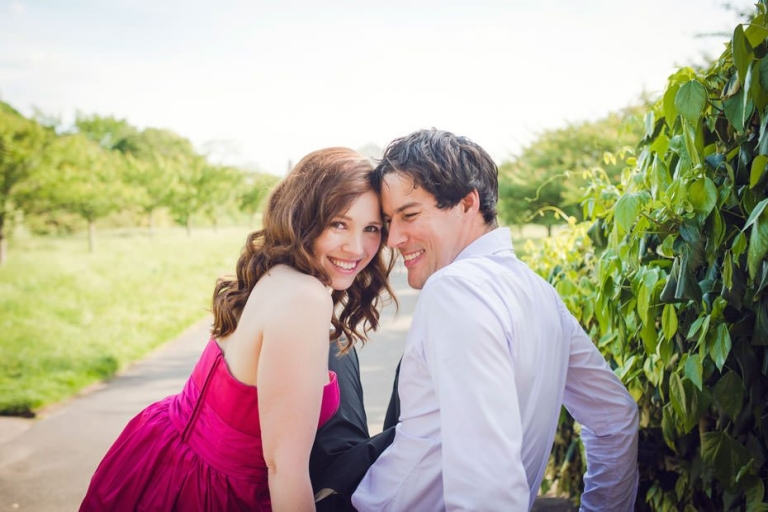 Julianne And David ~ Kew Gardens Engagement Photography 1