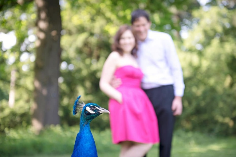Julienne & Dave ~ Kew Gardens Engagement Preview 1