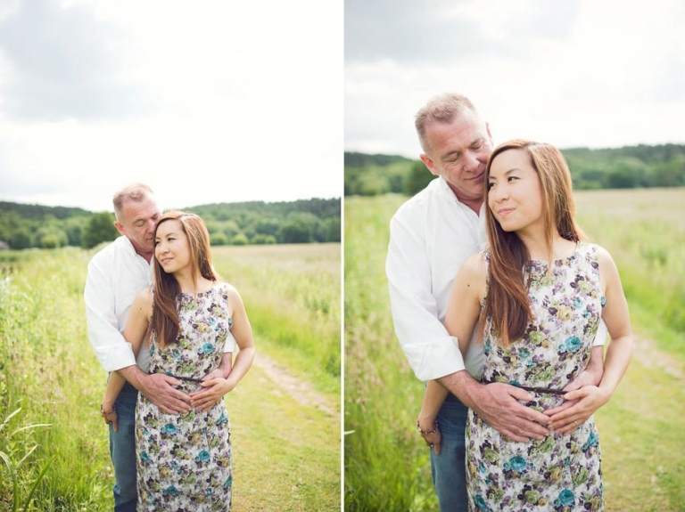 Will & Sarah ~ Waverley Abbey Engagement Photography 5
