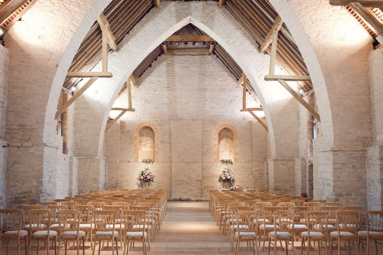 Tithe Barn Ditcham Wedding Photography ~ Andy & Carol Preview 5