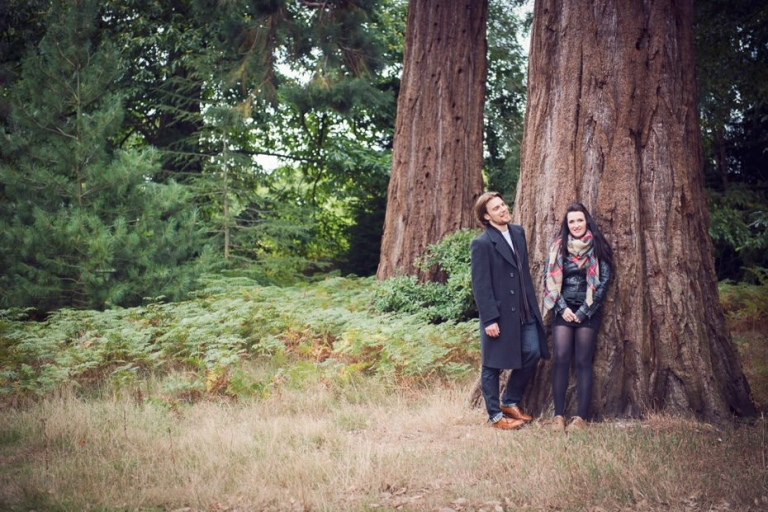 Carolanne & Luke ~ Woodland Engagement Shoot 2