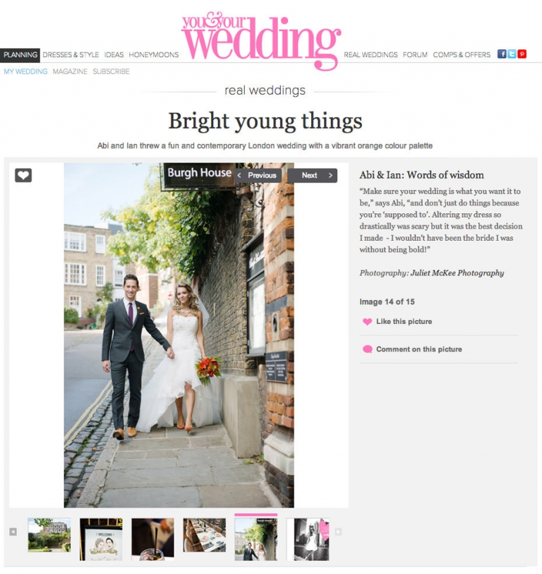 Featured ~ You And Your Wedding 3