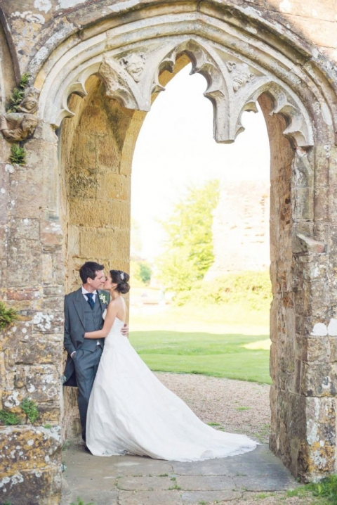 Battle Abbey wedding photo