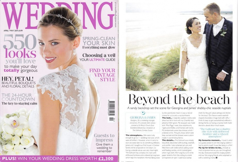 Featured April May wedding magazine