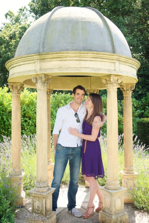 Botleys Mansion engagement shoot-2