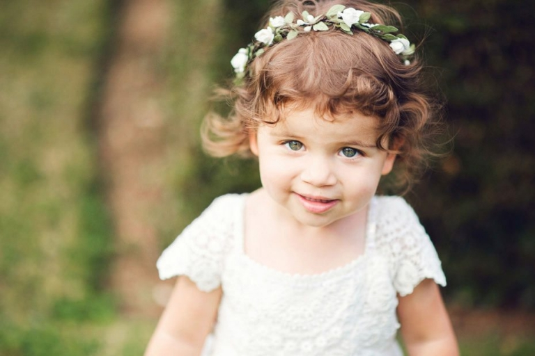 Beautiful-flowergirl at Great Fosters
