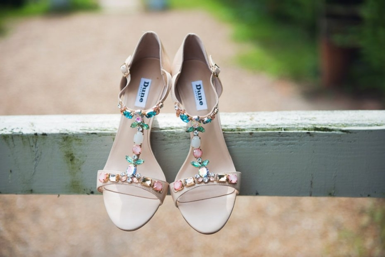 Dune bridal shoes