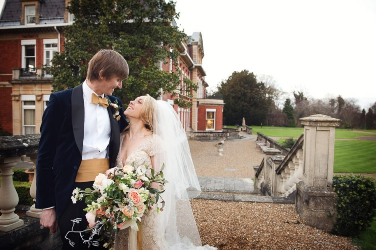Naomi & Chris -Fetcham Park Winter Wedding-12