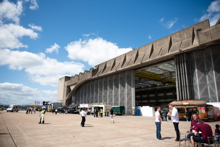 BA Engineering hanger