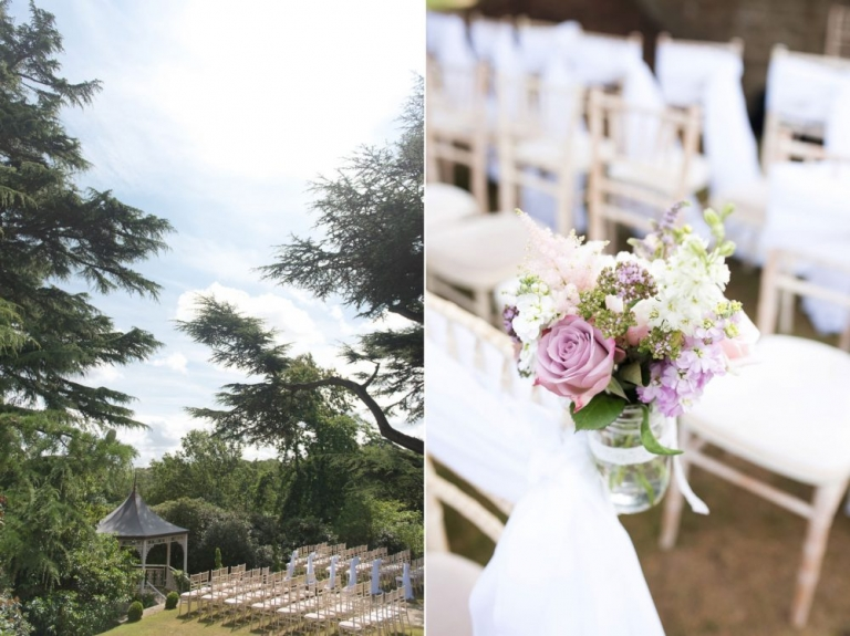 Pennyhill Park outdoor ceremony