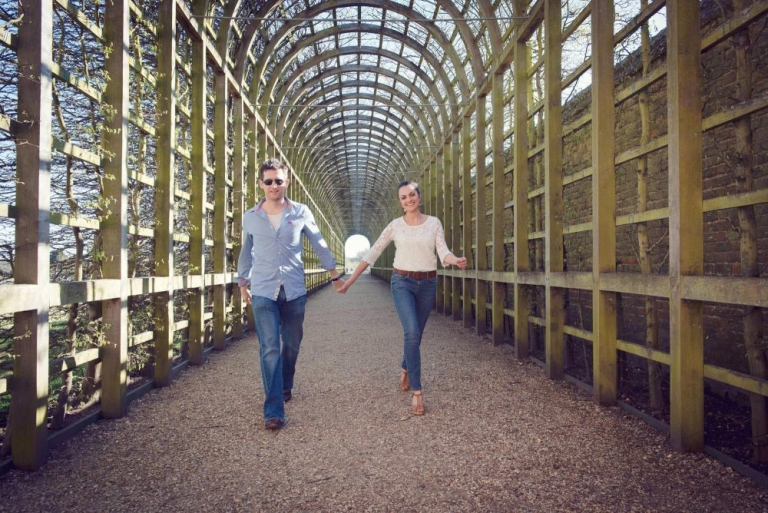 Hampton Court engagement shoot