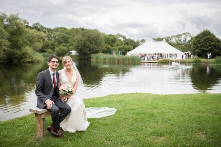 Juliet Mckee Photography - Duncton Mill Fishery Marquee wedding.