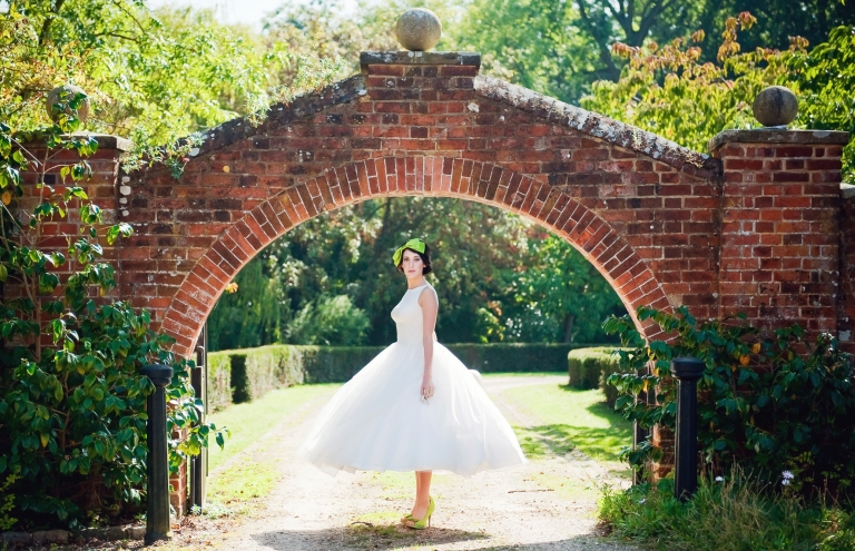 1950s bridal style and inspiration