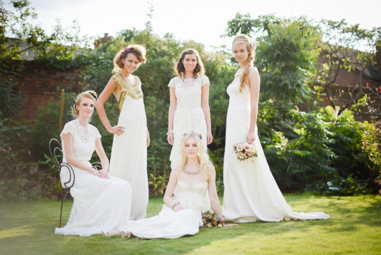 Miss Bush bridal editorial shoots