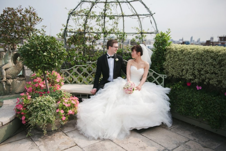 The Dorchester Hotel real wedding