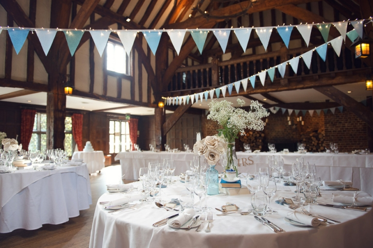 The Tithe Barn at Great Fosters