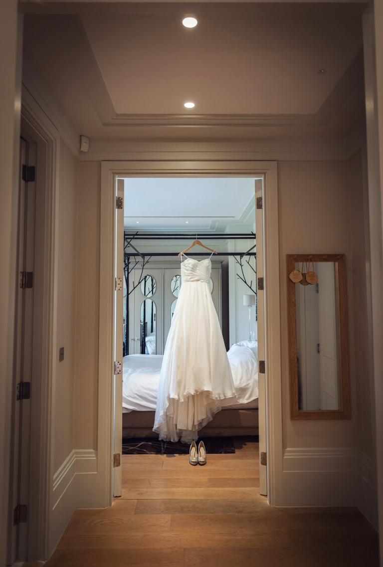 Bridal preparation at Coworth park
