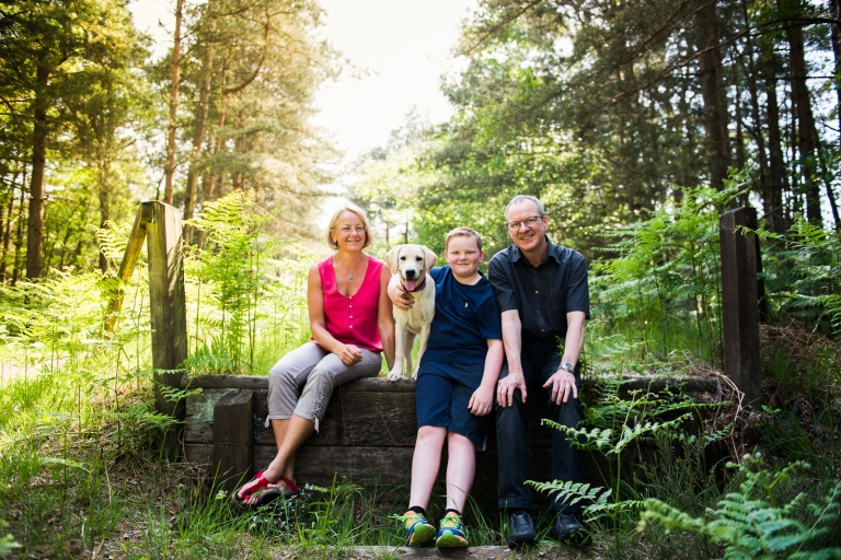 A Surrey Woodland Family Shoot 2