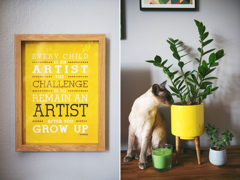 Every Child Is An Artist office wall print