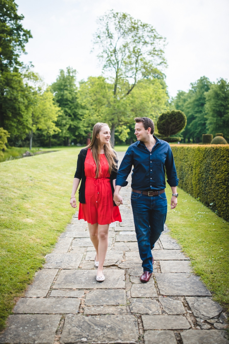 Great Fosters Engagement Session 1