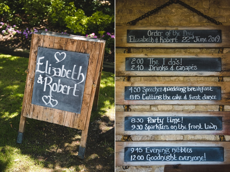 A Super Rustic Summer Wedding At The Tythe Barn Launton 1