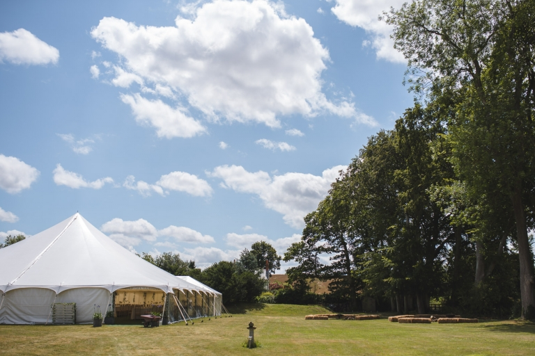 A Hampshire Marquee Wedding 4