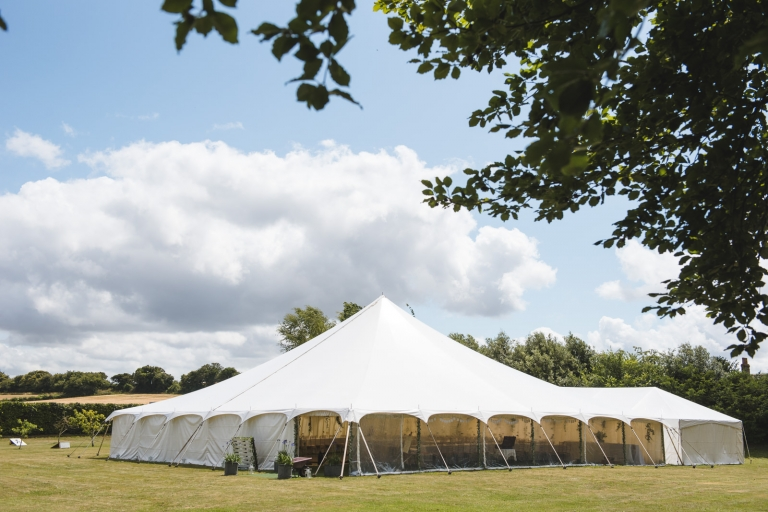 A Hampshire Marquee Wedding 3